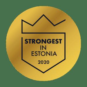 Strongest in Estonia